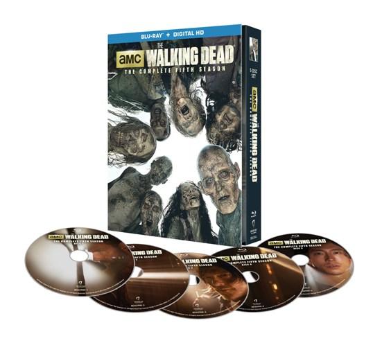 TWD Season 5 Limited Edition Blu-Ray - discs