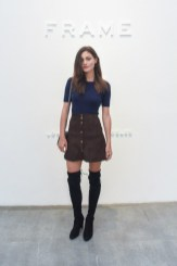 Frame Denim Show at NYFW - Phoebe Tonkin 1