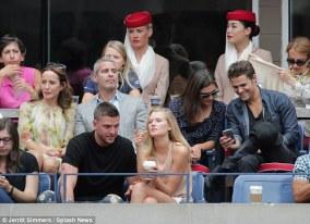 US Open - Paul Wesley and Phoebe Tonkin 13