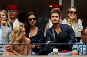 US Open - Paul Wesley and Phoebe Tonkin 4