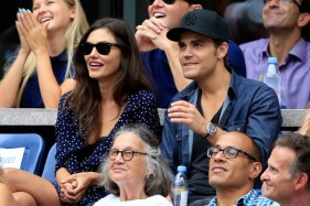 US Open - Paul Wesley and Phoebe Tonkin 5
