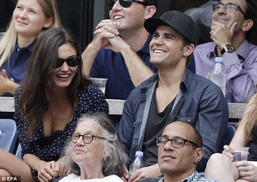 US Open - Paul Wesley and Phoebe Tonkin 8