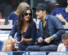US Open - Paul Wesley and Phoebe Tonkin 9