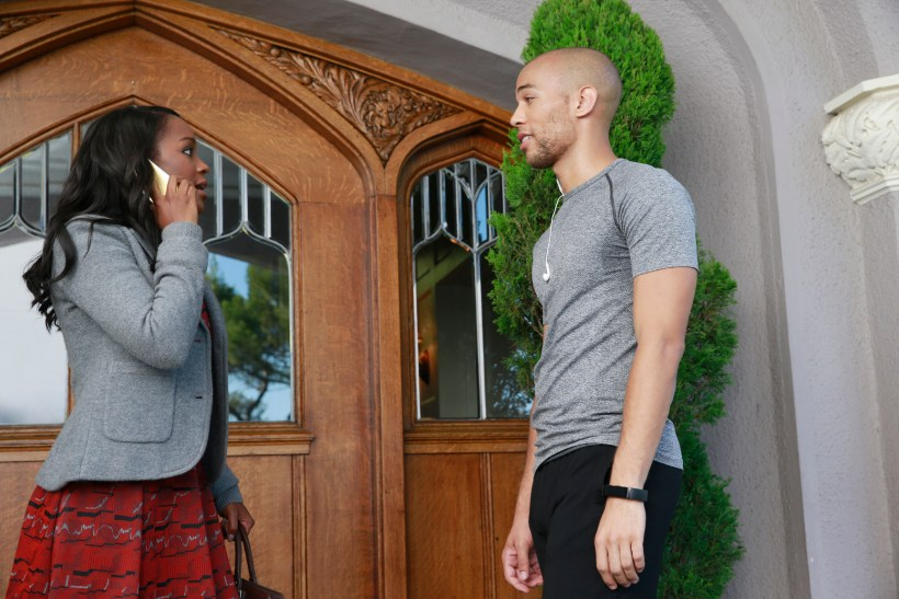 How To Get Away With Murder 2x04 - AJA NAOMI KING, KENDRICK SAMPSON