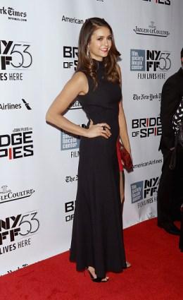 New York Film Festival - Bridge Of Spies - Nina Dobrev 5