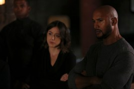 Agents of S.H.I.E.L.D. 3x08 - CHLOE BENNET, HENRY SIMMONS