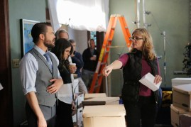 BTS How To Get Away With Murder 2x08 - CHARLIE WEBER, KARLA SOUZA, JENNIFER GETZINGER (DIRECTOR)