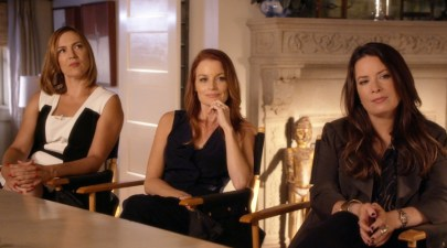 Pretty Little Liars SpecialLESLEY FERA, LAURA LEIGHTON, HOLLY MARIE COMBS
