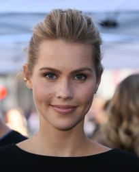 David Duchovny Walk of Fame Star - Claire Holt 1