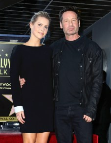 David Duchovny Walk of Fame Star - Claire Holt 10