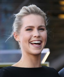 David Duchovny Walk of Fame Star - Claire Holt 4