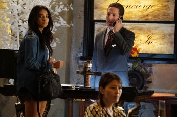 Pretty Little Liars 6x13 - SHAY MITCHELL, RYAN W. GARCIA