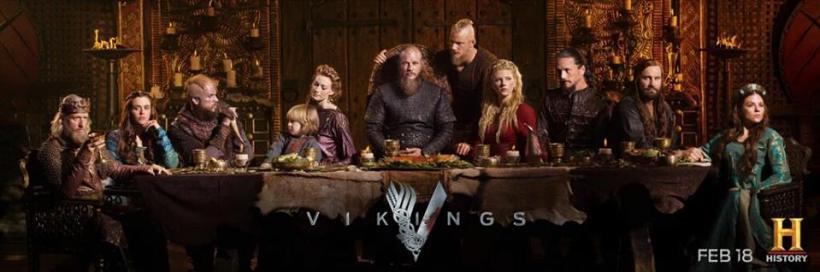 Vikings Season 4 Banner
