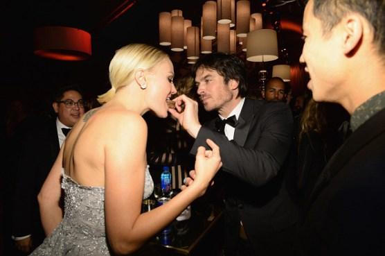 Weinstein Company Netflix Golden Globe Party - Ian Somerhalder 7