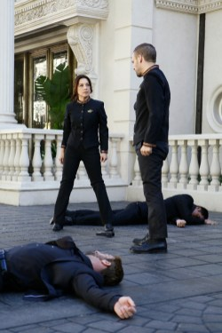 Agents of S.H.I.E.L.D. 3x12 - MING-NA WEN, NICK BLOOD