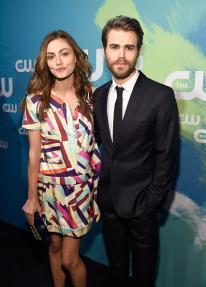 CW Upfronts 2016 - Paul Wesley and Phoebe Tonkin 2