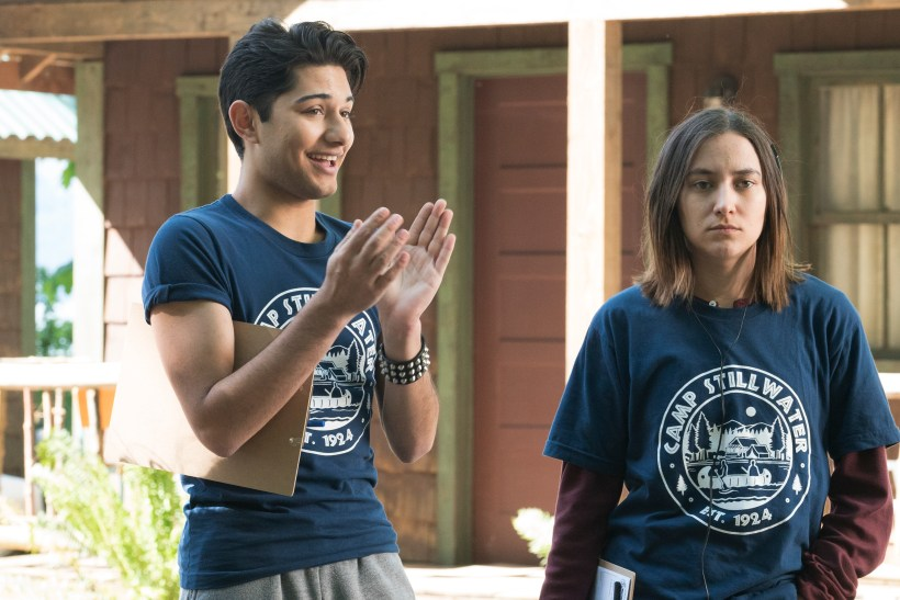 Dead of Summer 1x02- MARK INDELICATO, ZELDA WILLIAMS