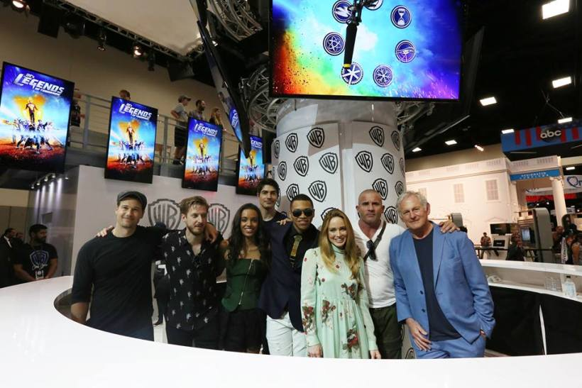 Legends of Tomorrow Comic Con 2016