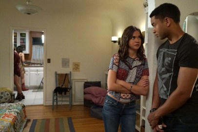 The Fosters 4x04 - MAIA MITCHELL, TOM WILLIAMSON