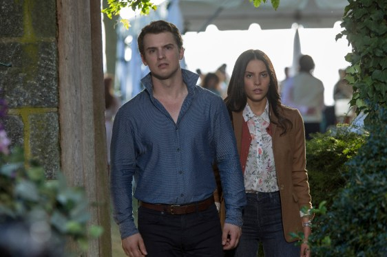 TIME AFTER TIME 1x04 -FREDDIE STROMA, GENESIS RODRIGUEZ