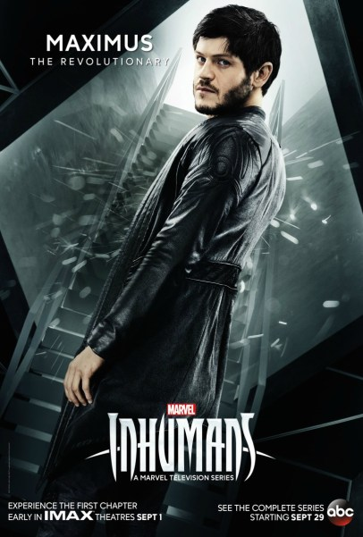 Inhumans Character Poster- Maximus
