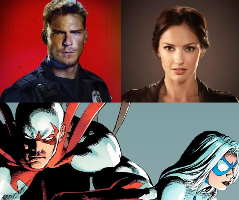 Titans Recruit Alan Ritchson & Minka Kelly As Hawk & Dove