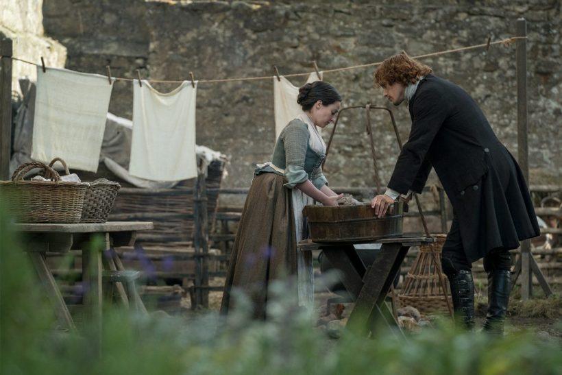 Outlander Jamie Jenny