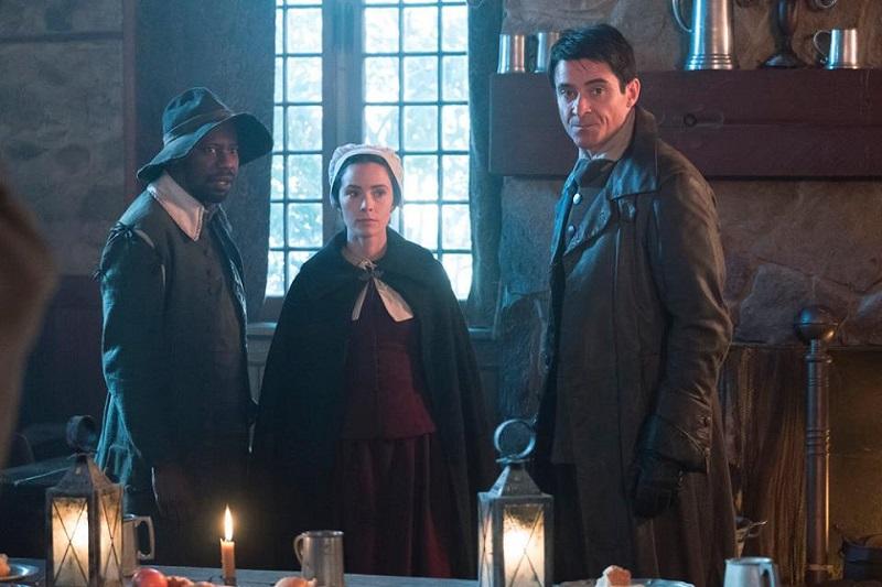 """Timeless 2x04 """"The Salem Witch Hunt"""""""