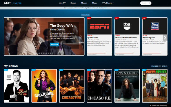 Updated: AT&T to End Streaming At Uverse com - The TV Answer