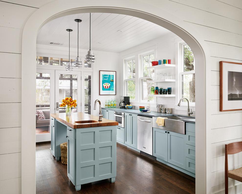 Interior design di una cucina - soggiorno - foto e progetti ...