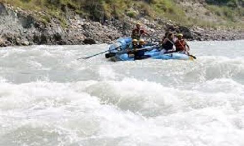 Rafting at Tattapani
