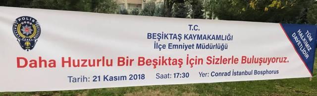 BEŞİKTAŞ İLÇESİ HUZUR TOPLANTISI YAPILDI