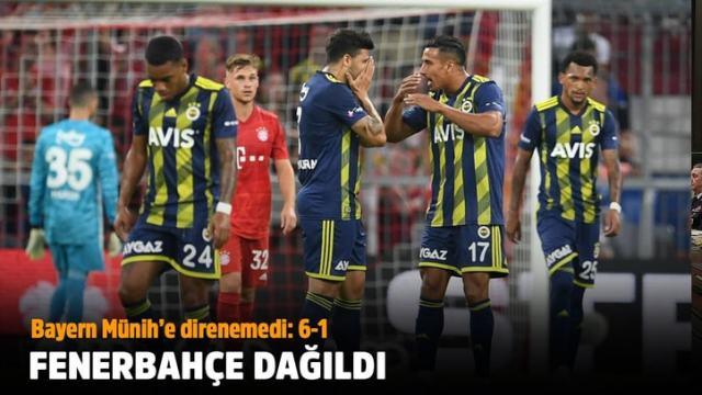 Fenerbahçe – Bayern Münih: 1-6 maç sonucu