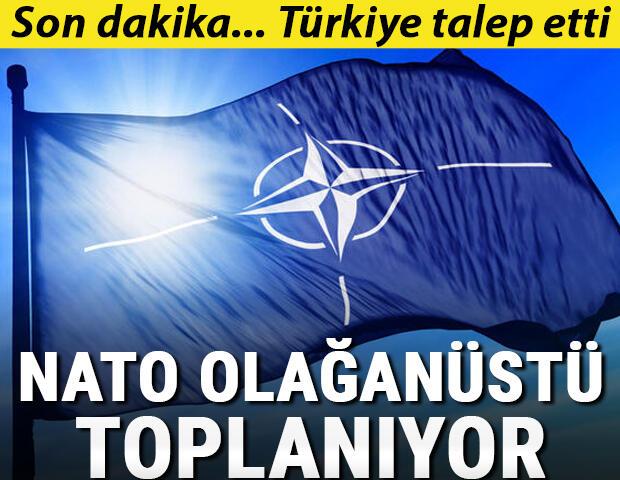 Son dakika! Türkiye talep etti… NATO 4. madde üzerine olağanüstü toplanma kararı aldı