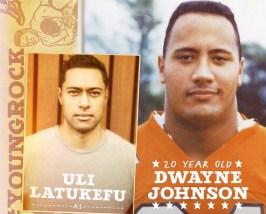 Uli Latuekfu and Dwayne Johnson (image - slashfilm)