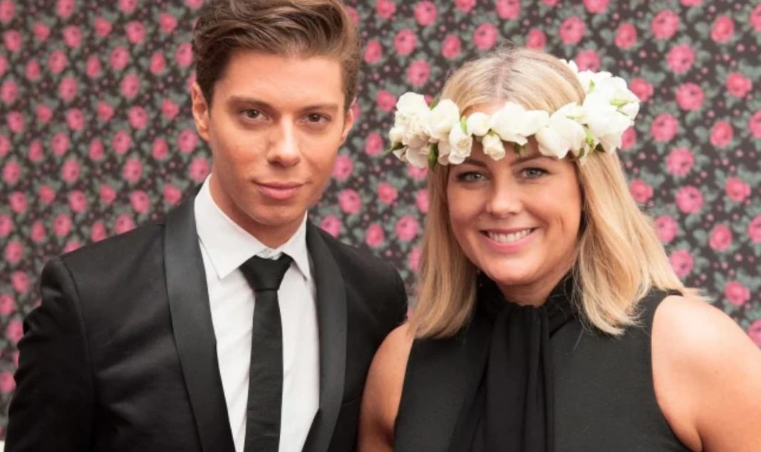 MIchael Pell and Sam Armytage (image - instagram