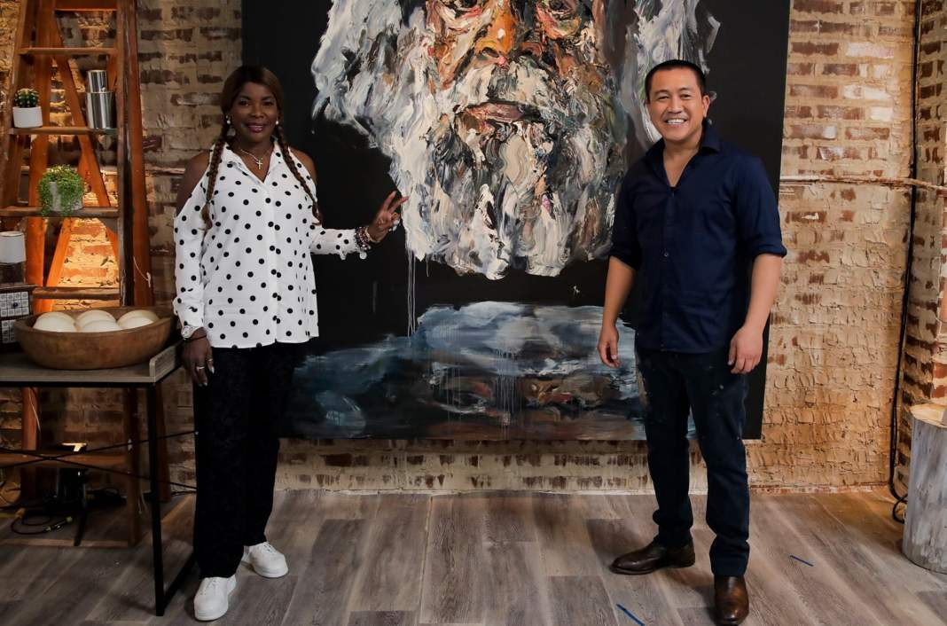 Marcia Hines and Anh Do (image - ABC)