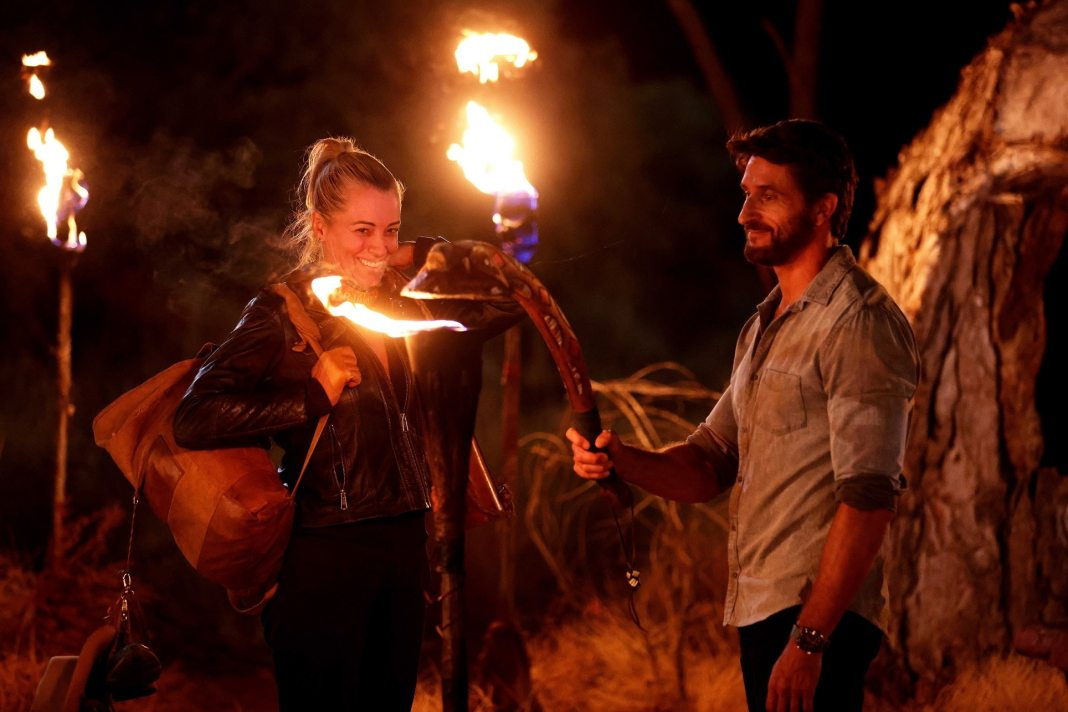 Cara is voted out of the semi-final of AUSTRALIAN SURVIVOR (image - Nigel Wright/10)