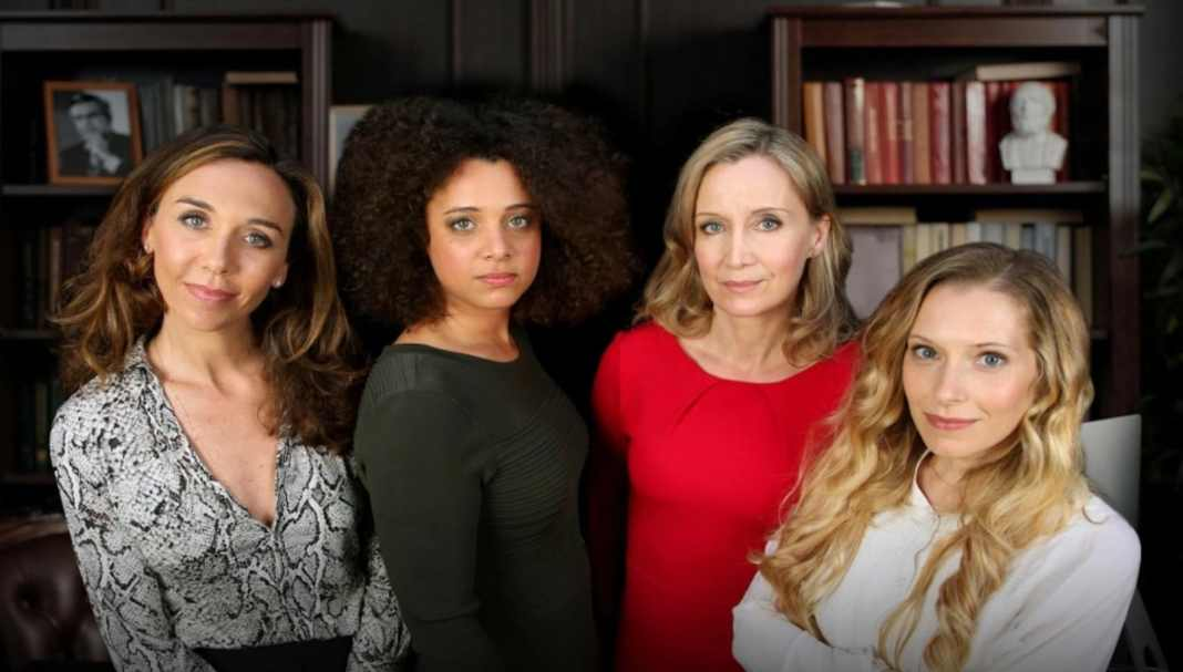 The cast of Family Business (image - Britbox)