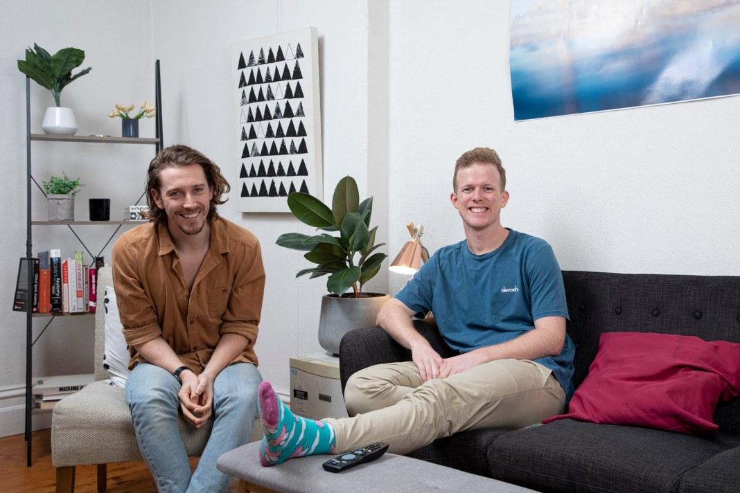 Adam and Symon have returned to GOGGLEBOX AUSTRALIA (image - Lifestyle/10)
