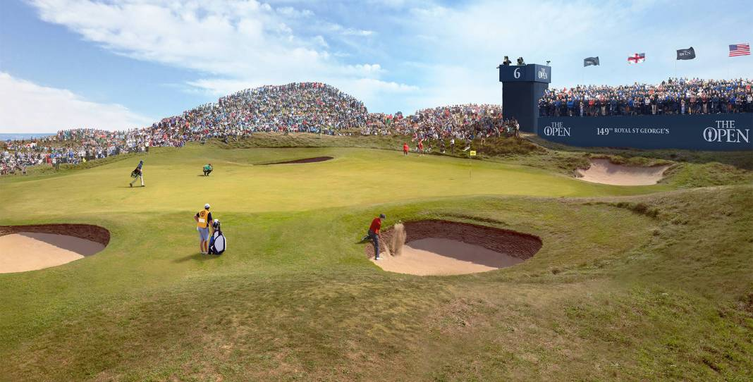 The 149th Open at Royal St George's England