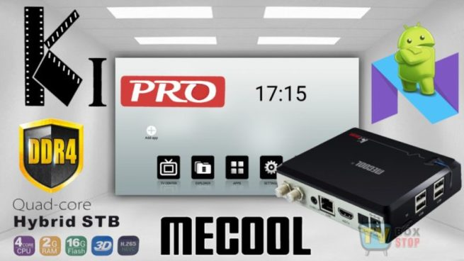 Mecool KI Pro Hybrid Android 7.1 4K TV box