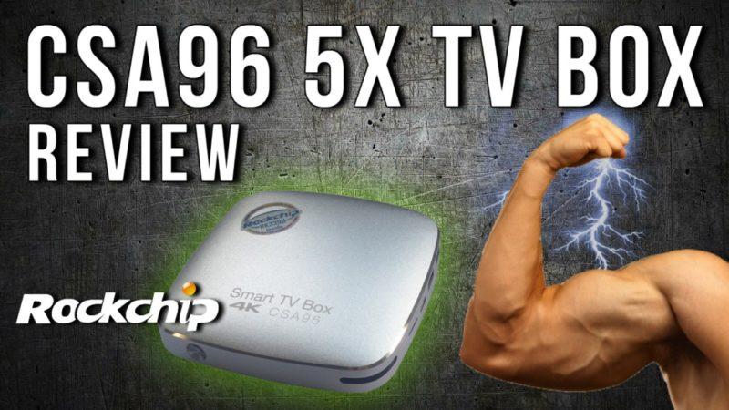 CSA96 TV BOX REVIEW