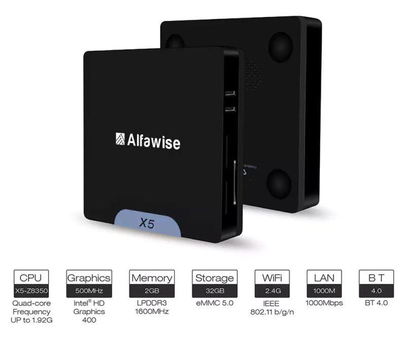 Alfawise X5 specs