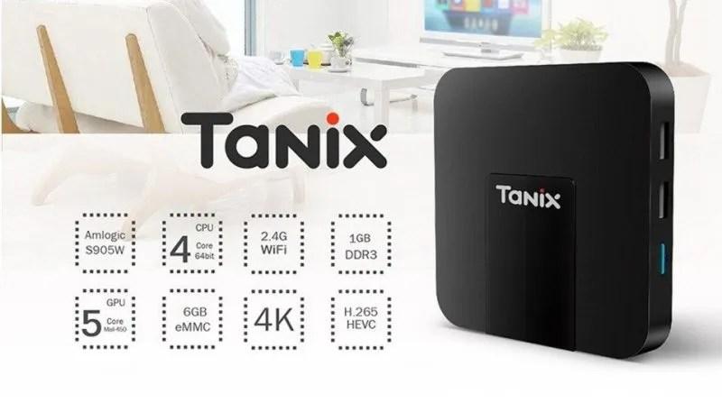 Tanix-TX3-mini-S905W-Hardware spec