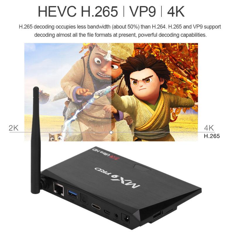 MX9 Pro 4K features
