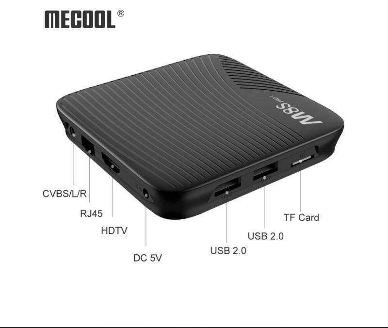 Mecool M8S Pro L ports