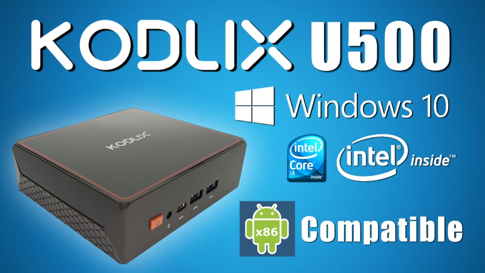Kodlix U500 Mini PC Banner