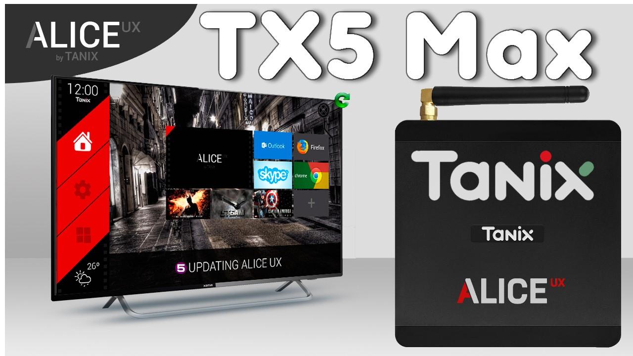 Tanix TX5 Max banner