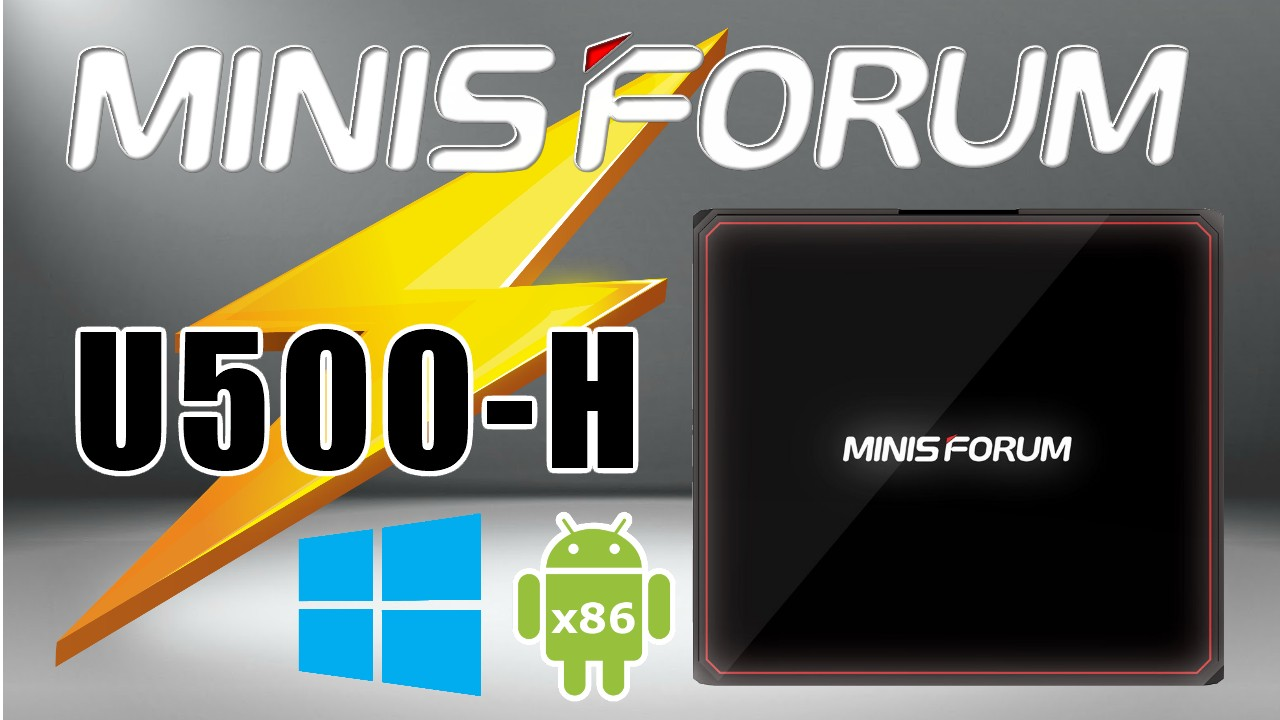 Minisforum U500-H Mini PC Banner